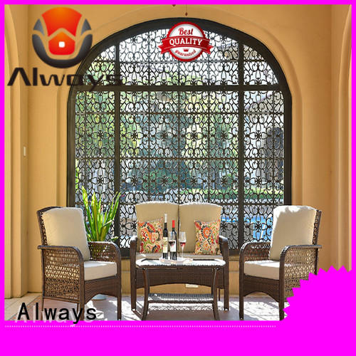 Always utility dining patio furniture from China for gardens