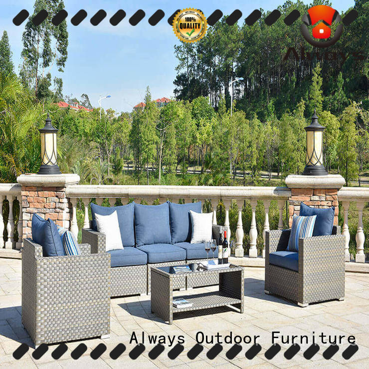 Always ethereal outdoor furniture wholesale environmentally friendly for porch