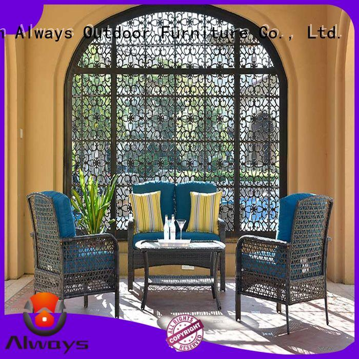 durable wicker patio table manufacturer for gardens