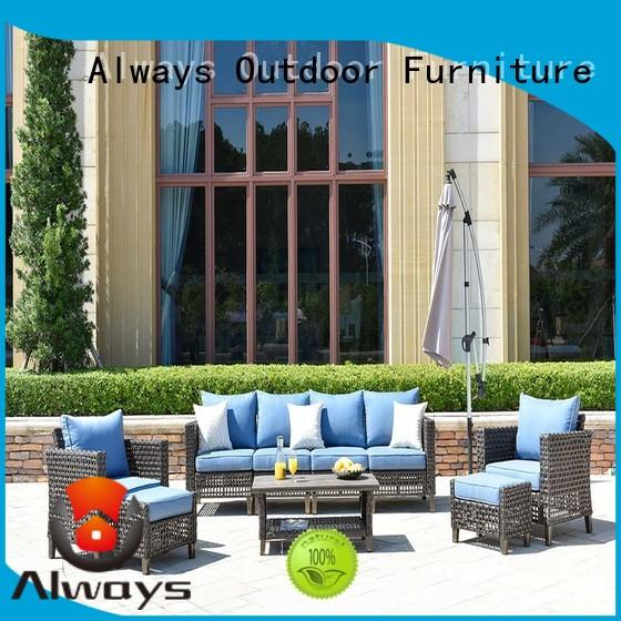Always patio wicker style patio furniture environmentally friendly for terraces