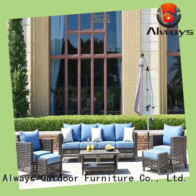 Always fashionable commercial outdoor furniture wholesale promotion for gardens