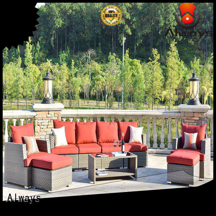 Always color commercial outdoor furniture wholesale from China for porch