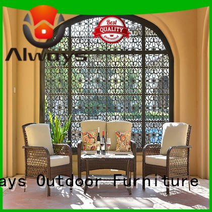 khaki sectional patio furniture manufacturer for terraces Always