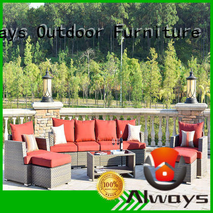 Always tolkien dining patio furniture factory price for gardens