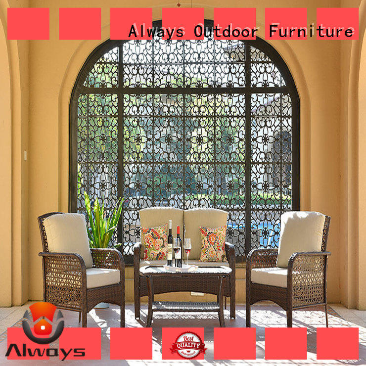 beautiful resin wicker patio furniture pe promotion for porch