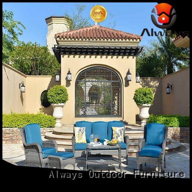 Always dining patio furniture factory price for terraces
