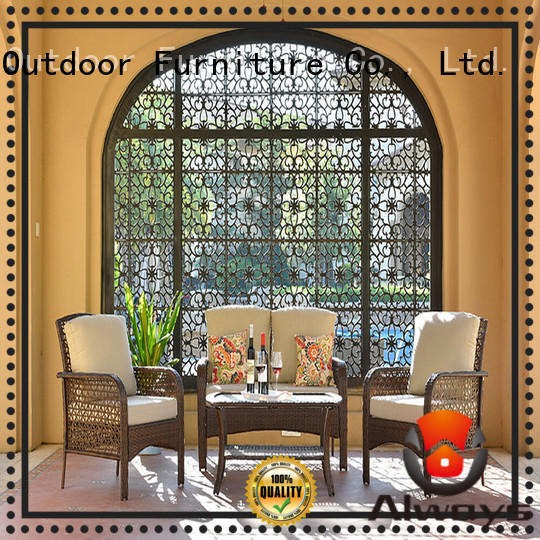 munlti-function wicker outdoor furniture outdoor factory price for porch