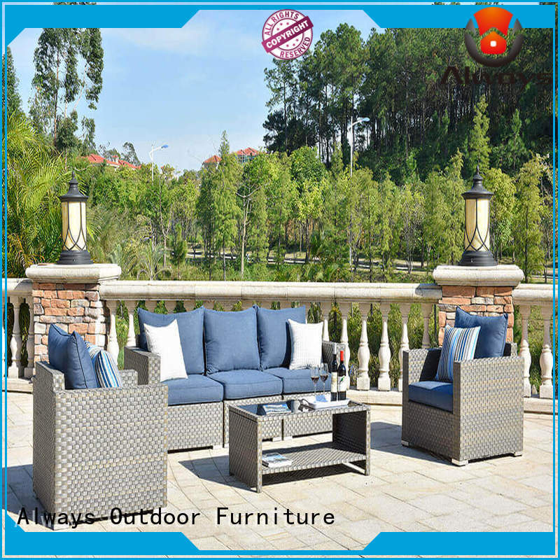 munlti-function resin wicker patio furniture resin promotion for swimming pools for outdoor leisure for places
